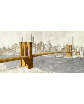 JOANNOO NEW YORK PUENTE DE BROOKLYN SKYLINE PANORAMICO Home