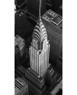CUADRO FOTOGRAFIA BN EDIFICIO CHRYSLER NEW YORK