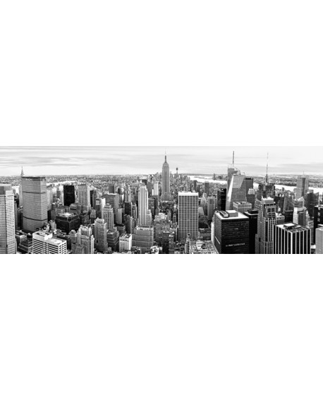 CUADRO FOTOGRAFIA BN PANORAMICO NEW YORK MANHATTAN Home