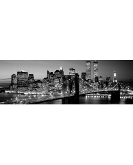 CUADRO FOTOGRAFIA BN PUENTE BROOKLYN MANHATTAN 3 Home