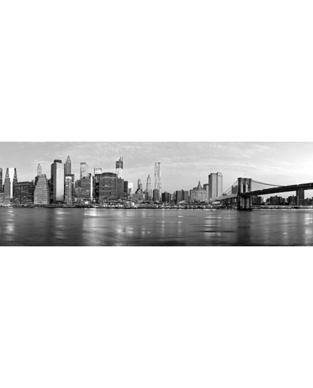 CUADRO FOTOGRAFIA BN PUENTE BROOKLYN MANHATTAN Home