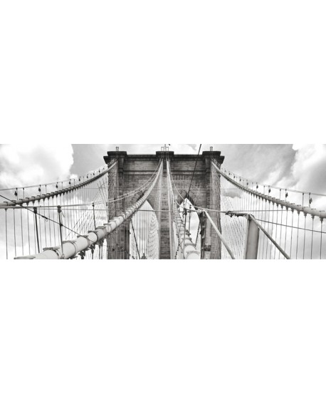 CUADRO FOTOGRAFIA BN NEW YORK PUENTE DE BROOKLYN Home