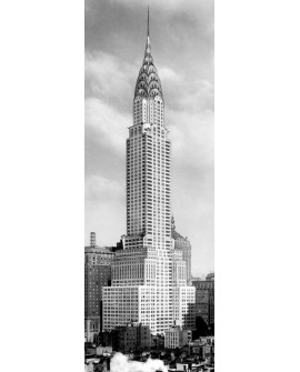 CUADRO FOTOGRAFIA BN EDIFICIO CHRYSLER NEW YORK Home
