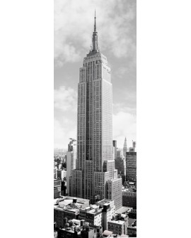 CUADRO FOTOGRAFIA BN EDIFICIO EMPIRE STATE NEW YORK