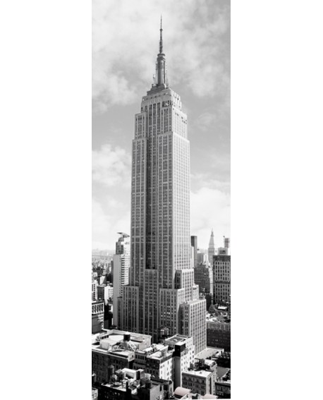 CUADRO FOTOGRAFIA BN EDIFICIO EMPIRE STATE NEW YORK Home