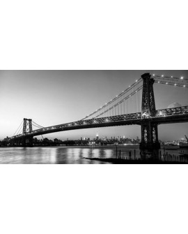 CUADRO FOTOGRAFIA BN PUENTE BROOKLYN NEW YORK 3 Home