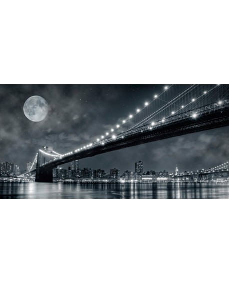 CUADRO FOTOGRAFIA BN PUENTE BROOKLYN NEW YORK Home