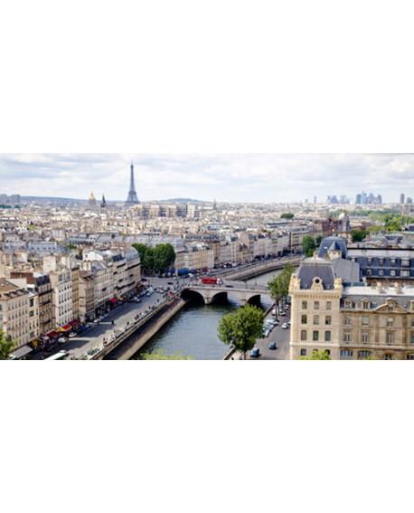 CUADRO FOTOGRAFIA DE PARIS VISTAS A LA CIUDAD VINTAGE Home