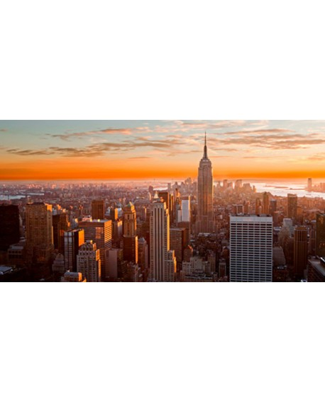 CUADRO FOTOGRAFIA AMANECER EN NEW YORK Home