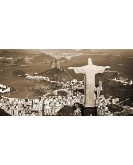 CUADRO FOTOGRAFIA VISTAS RIO DE JANEIRO BRASIL VINTAGE