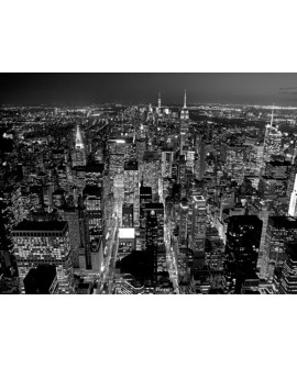 CUADRO FOTOGRAFIA BN MANHATTAN NEW YORK Home