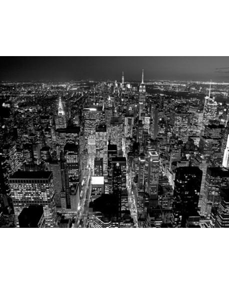 CUADRO FOTOGRAFIA BN MANHATTAN NEW YORK Home