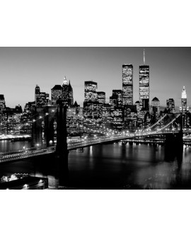 CUADRO FOTOGRAFIA BN PUENTE BROOKLYN NEW YORK Home