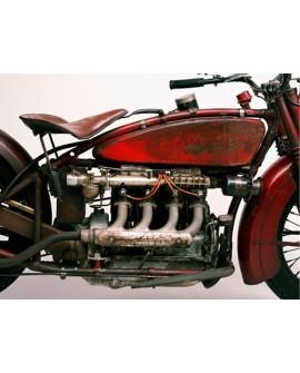 CUADRO FOTOGRAFIA MOTO INDIAN 1929 VINTAGE MURAL Home