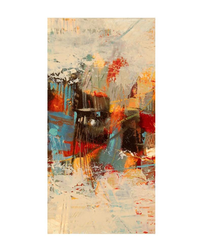 Lucas cuadro abstracto triptico friso vertical 2 descripci n de un - Cuadros verticales modernos ...