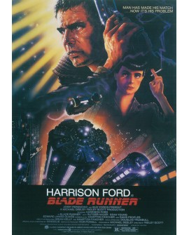Blade Runner - Cartel Clasico de cine Ficción en Cuadro Mural Home