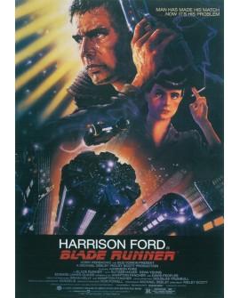 Blade Runner - Cartel Clasico de cine Ficción en Cuadro Mural