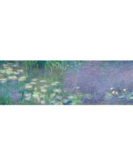 CLAUDE MONET CUADRO LAGO DE NENUFARES 2 PANORAMICO Home