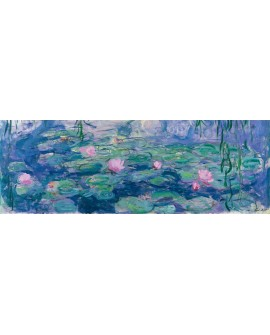 CLAUDE MONET CUADRO LAGO DE NENUFARES 1 PANORAMICO Home
