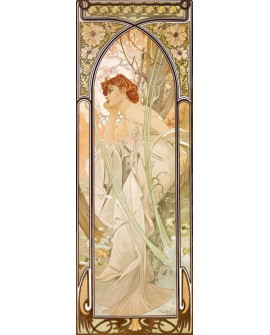 ALPHONSE MUCHA CUADRO FRISO ART NOUVEAU DECO AMANECER Home