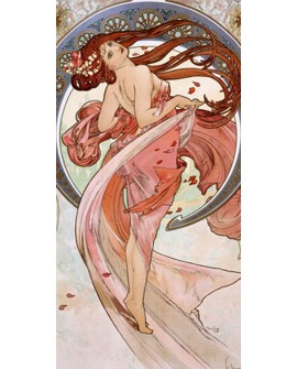 ALPHONSE MUCHA CUADRO FRISO ART NOUVEAU DECO DANZA Home