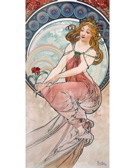 ALPHONSE MUCHA CUADRO FRISO ART NOUVEAU DECO PINTURA Home