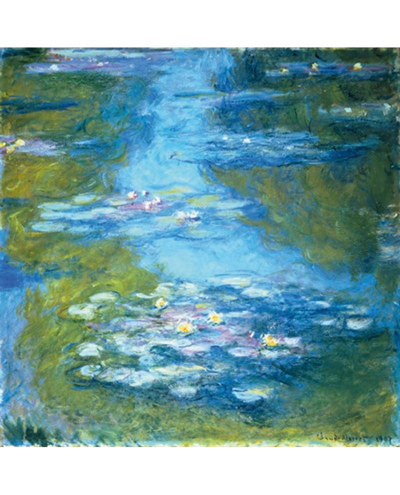 Claude monet cuadro lago de nenufares 2 impresionista descripci n d - Fotos de cuadros de monet ...