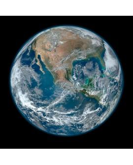 CUADRO FOTO DEL PLANETA TIERRA POR LA NASA CUADRADO Home