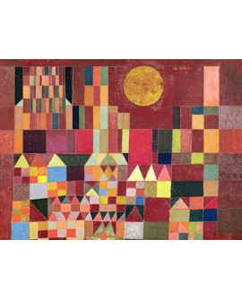 PAUL KLEE CUADRO ABSTRACTO VANGUARDISTA CASTILLO Y SOL Home