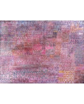 PAUL KLEE CUADRO ABSTRACTO VANGUARDISTA CATEDRAL Home