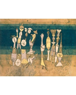 PAUL KLEE CUADRO ABSTRACTO VANGUARDISTA COMEDIA Home