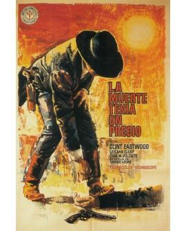 La Muerte tenia un precio Clint Eastwood - Cartel de cine. Home