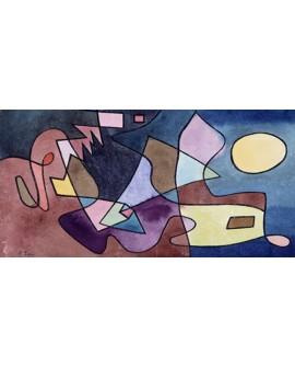 PAUL KLEE CUADRO ABSTRACTO VANGUARDISTA DRAMATICO Home