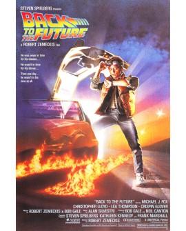 Regreso al Futuro - Cuadro Cartel Clasico de cine Ficción.