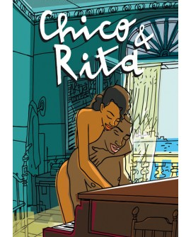 CHICO y RITA  caltel cine cubano comic Latino Home