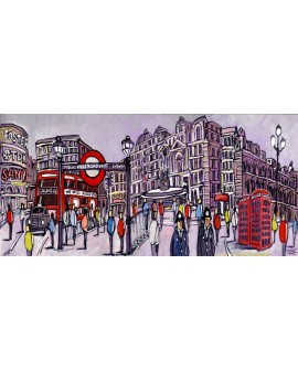 Alcala panoramica londres piccadilly circus - comic.