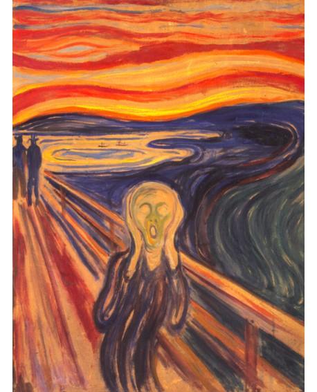 Edward Munch El grito - Impresionismo Cuadro reproduccion Home