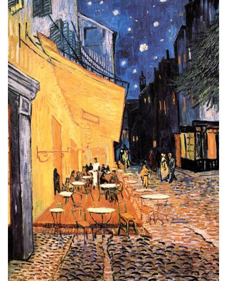 Van Gogh La Terraza del cafe de Paris - Cuadro Impresionista Home