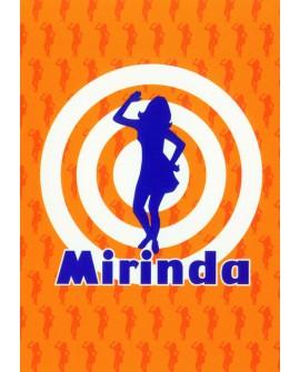 Mirinda - Cartel Publicitario de PepsiCola naranja en España Home