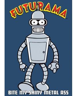 Futurama Robot Bender en Cuadro cartel Decorativo juvenil Home