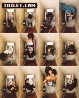 TOILET CAM - Cuadro Collage Fotografia - Cuadro para baño Home