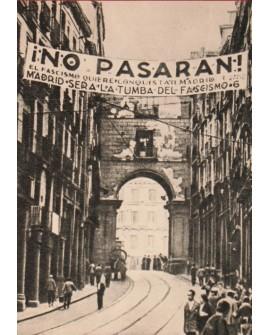 No Pasarán Madrid Cuadro de foto Guerra Civil española Home