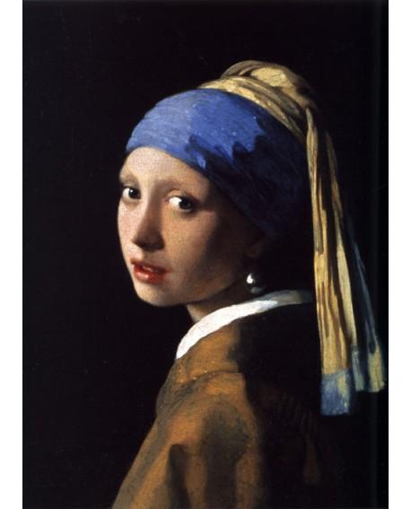 Vermeer joven de la perla - Pintura clasica flamenca en Reproduccion Home