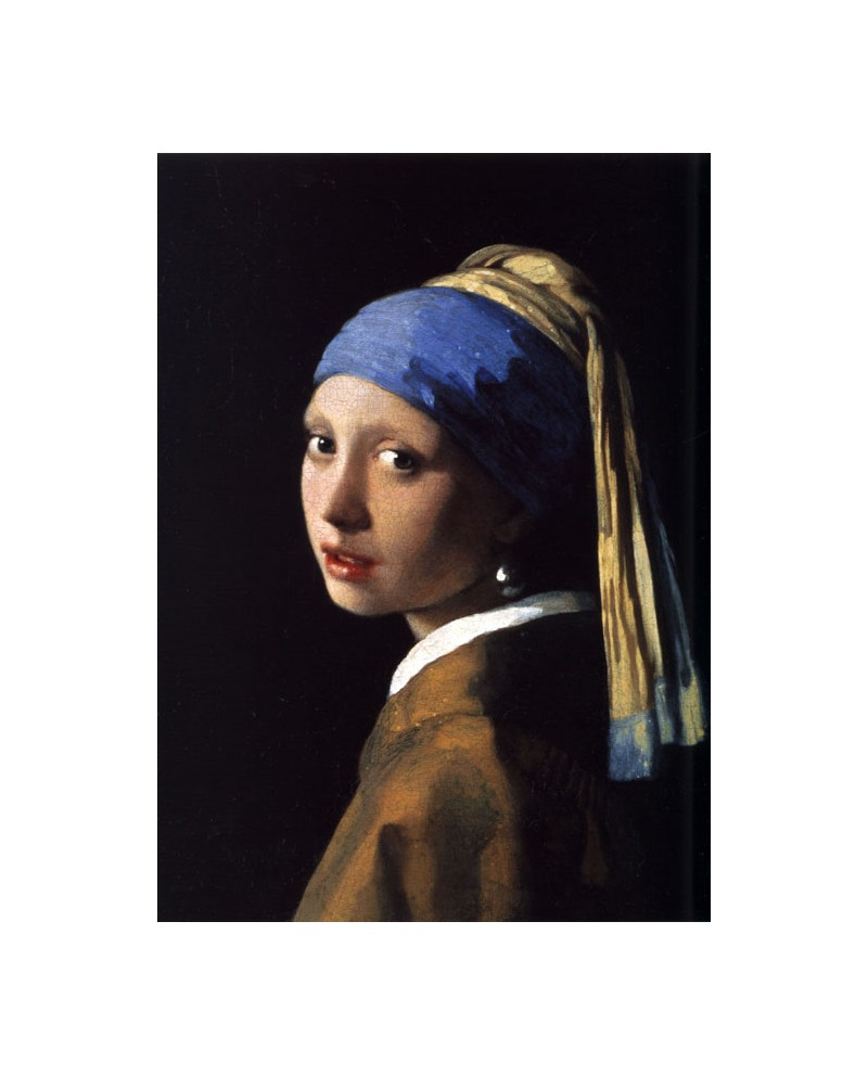 dulce oído Hueso  Vermeer joven de la perla - Pintura clasica flamenca en Reproduccio...
