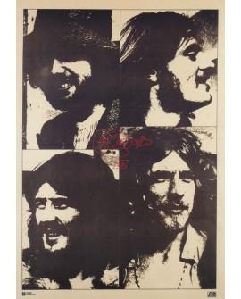 Led Zeppelin Cartel Vintage de Casa de discos en cuadro Reproduccion Home