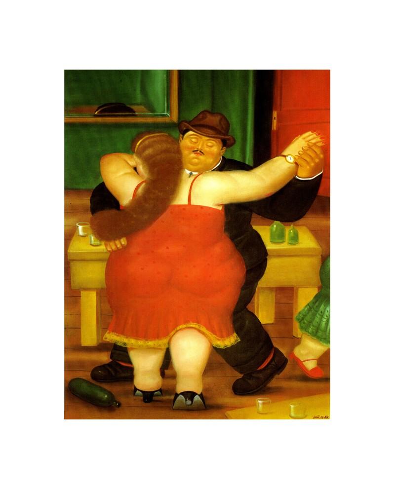 Botero los bailarines rojo pintura latina de colombia reproduccion - Fotos de botero ...