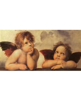 Rafael angeles clasicos cabecero cuadro mural reproduccion Cuadros Horizontales