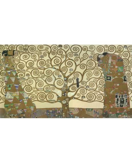 klimt arbol de la vida cuadro mural impresionismo figurativo Cuadros Horizontales