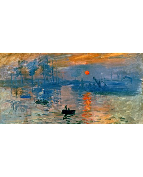 Monet amanecer cuadro grande mural reproduccion impresionista Cuadros Horizontales