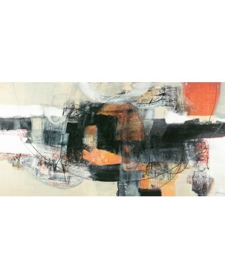PIOVAN TIEMPO REMOTO cuadro mural abstracto moderno panoramico Cuadros Horizontales